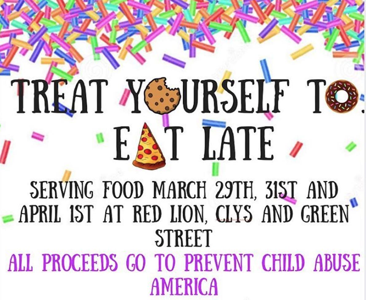 EAT Late Event hosting by Sigma Delta Tau U of I